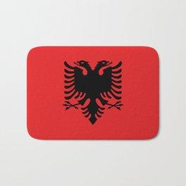 Albania Flag Bath Mat