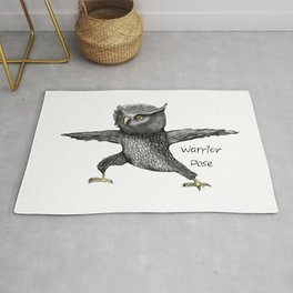 Warrior pose Rug