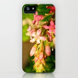 Native Flowers iPhone Case