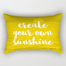 Create Your Own Sunshine Rectangular Pillow
