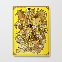 end of the world party (commemorative edition) Metal Print