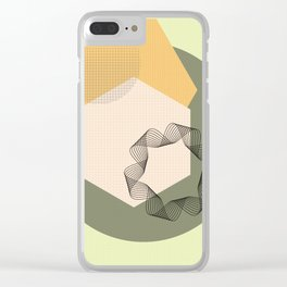 """""""Canvas Geometry"""" Clear iPhone Case"""