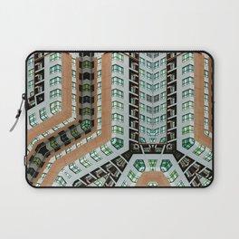 Graphic design futuristic residential Laptop Sleeve