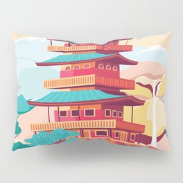 Japanese Castle Pillow Sham