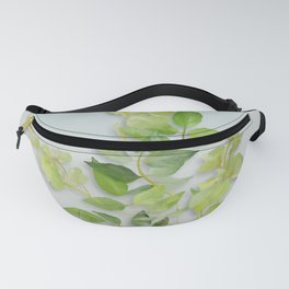 Yellow Tiny Flowers Fanny Pack