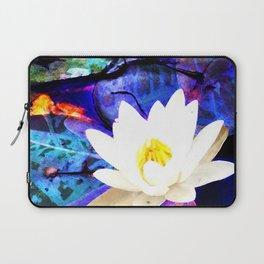 Electrifying Lotus Laptop Sleeve