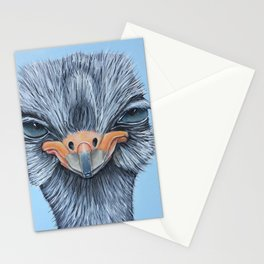Tessa, the Somali Ostrich Stationery Cards