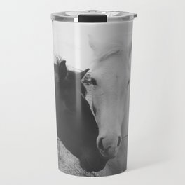 Horse Pair Travel Mug