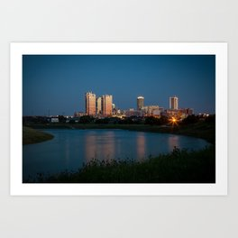 Fort Worth, Texas Art Print