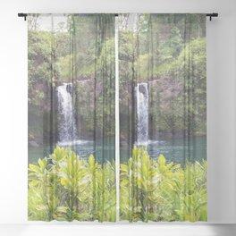 Hidden Waterfall Sheer Curtain