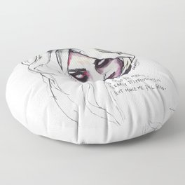 Provocative Floor Pillow