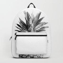 Pineapple Engraving Backpack