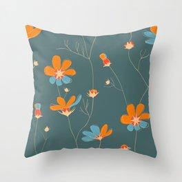 Wild chamomile Throw Pillow