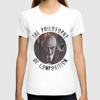 philosophy T-shirts featuring The Philosophy of Composition by Collage Calamity
