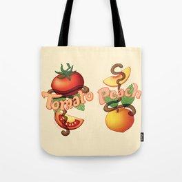 Peachy Tomato Tote Bag
