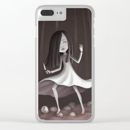 Cursed Forest Clear iPhone Case
