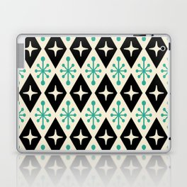 Mid Century Modern Atomic Triangle Pattern 122 Laptop & iPad Skin
