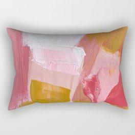 ROSE GARDEN SUNSET Rectangular Pillow