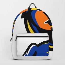 Rottweiler Dog Mascot Backpack