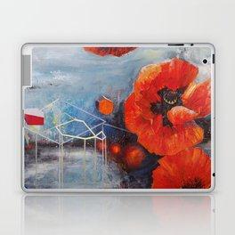 Poppies for K Laptop & iPad Skin
