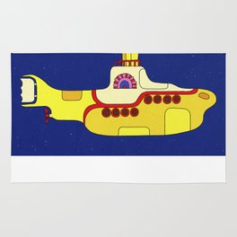 We all live in a yellow submarine Rug