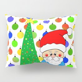 Santa Christmas Eve Pillow Sham