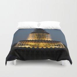 fountain lights Duvet Cover