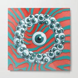 Eyeballs Metal Print