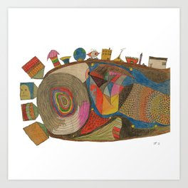 Insemination Art Print