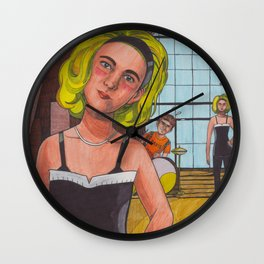 I Know Her Wall Clock