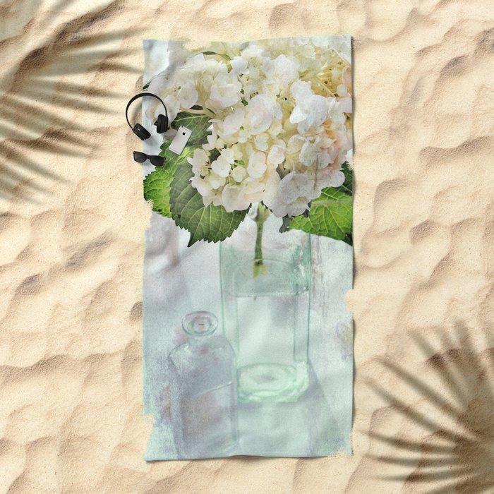 Whitish Beach Towel