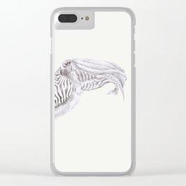 Cuttlefish Clear iPhone Case