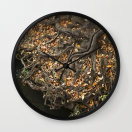 Fairytale Trees Wall Clock