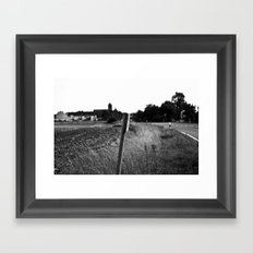 Little Town Framed Art Print