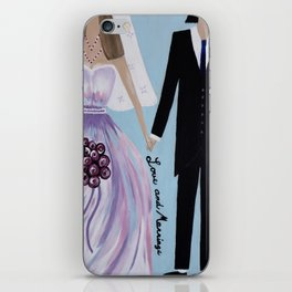 Love And Marriage iPhone Skin