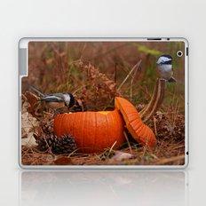 A Chickadee Thanksgiving Laptop & iPad Skin