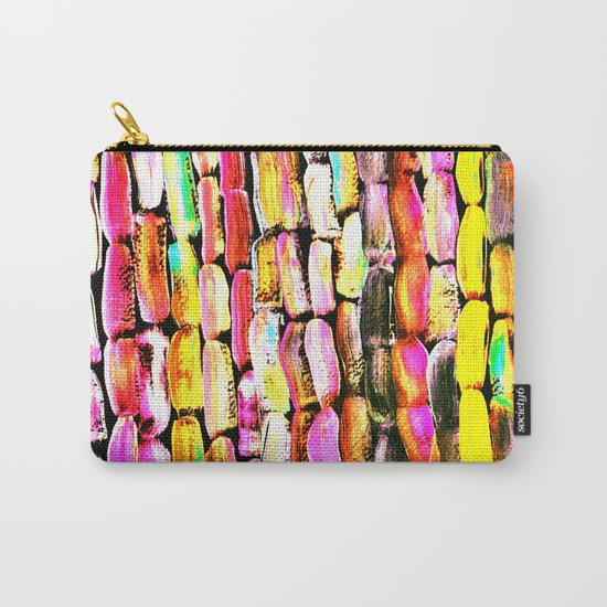 Orange Sugarcane Carry-All Pouch