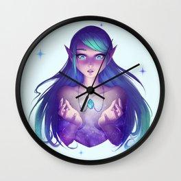 Necklace Nebula Wall Clock