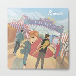 Paramore - Welcome to Real World Metal Print