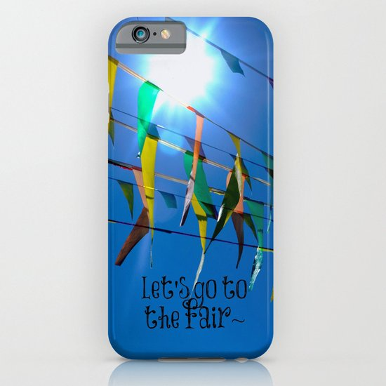 Let's go to the fair iPhone & iPod Case