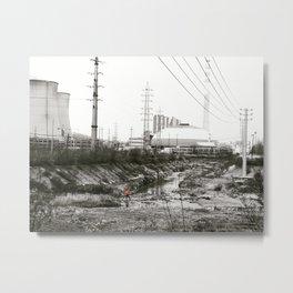 Apocalyptic Commute Metal Print