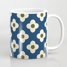 Retro Floral Pattern Scandinavian Coffee Mug