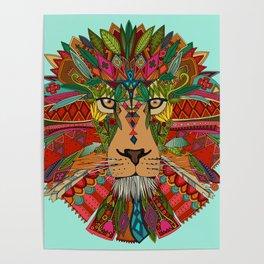lion mint Poster