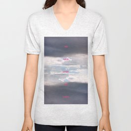 The calm after the storm. By Angelica Ramos Unisex V-Neck