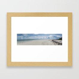 10633 Beach Day Pano Framed Art Print