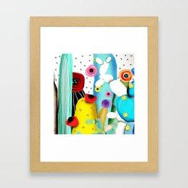 Cactus Mexico Framed Art Print