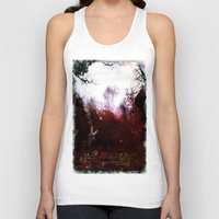 fairies Tank Tops featuring Fairies by the Waterside by Sarah Maurer