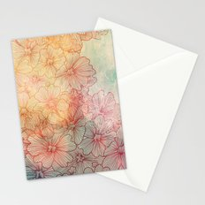 Flowery Field Stationery Cards