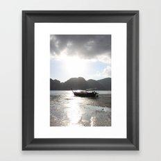 Boat II Framed Art Print