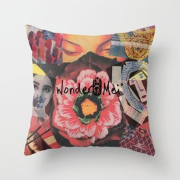 World of Wondermei Throw Pillow